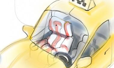 Такси массажное кресло